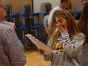 The Regis School Celebrates 'Best Ever' GCSE results!
