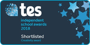 Surbiton High School shortlisted for Creativity Award at TES Independent School Awards