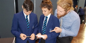 Carter Community School students work with the Smallpeice Trust to help engineer eco-friendly power supplies