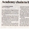 Academy Chain to Break Government Pay Ceiling in Bid to Lure 'Best Teachers'