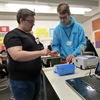 Spectroscopy in a suitcase visits Richard Rose Sixth Form