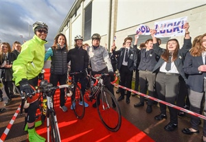 Swindon pupils do their part for Ride ABC