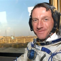 Astronaut Mike Foale comes back down to earth to make special visit to William Hulme's Grammar...