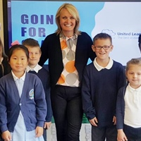 First day as academies for Hunningley and Worsbrough Bank End Primary Schools