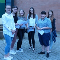 Students at Richard Rose Central Academy are celebrating their GCSE results today.