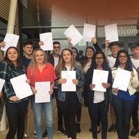 Accrington Academy Students Celebrate Continued GCSE Success