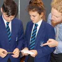 Carter Community School students work with the Smallpeice Trust to help engineer eco-friendly power...