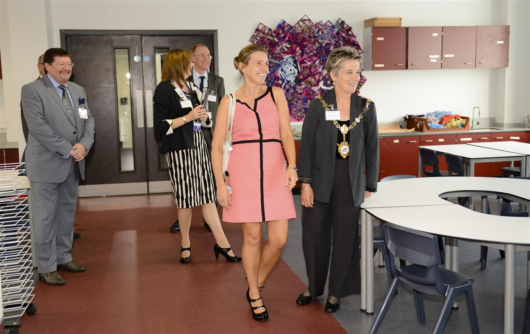 Duke of Buccleuch Officialy Opens Kettering Buccleuch Academy