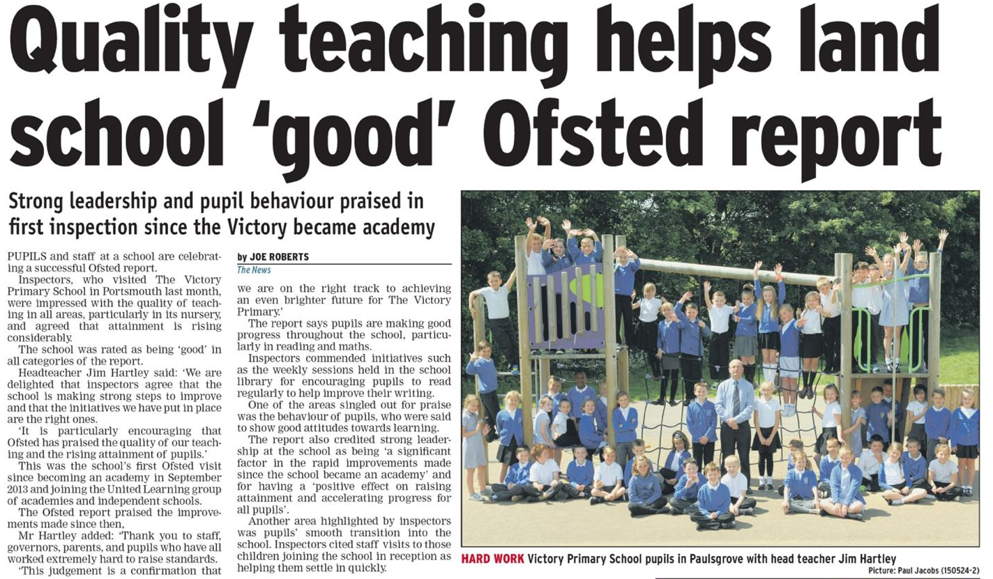 how reliable are ofsted reports as Ofsted reports please find below important documents and information about our school.
